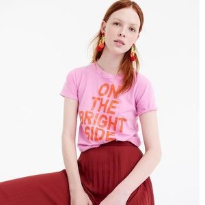 J. Crew- On The Bright Side T-Shirt